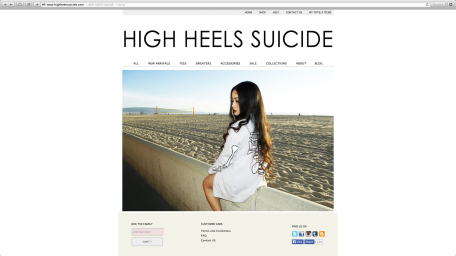 HIGH HEELS SUICIDE (2014)